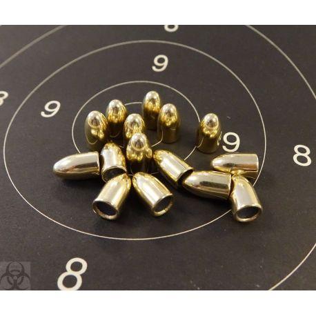 Ogives 9mm 124 grains FMJ - Alsa pro