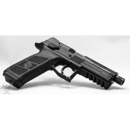 Pistolet CZ P09 Fileté - 9 para - 9x19 - P-09