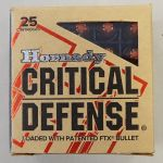 9 mm Critical Defense - Hornady - 115 Grains - 9 para 9x19