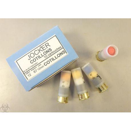 Cartouches Cotillons - calibre 12