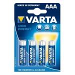 pile Alcaline AAA (LR03)  - VARTA