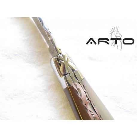 Laguiole Artisan ARTO Prestige Corne Blonde 12 cm