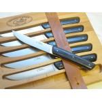 GILLES ARTISAN - 6 couteaux de table - Thiers par Fontenille Pataud