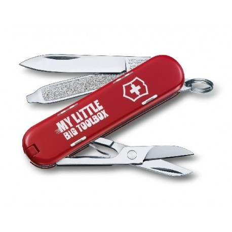 série spéciale CLASSIC My little big toolbox - Victorinox Collection