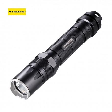 Nitecore Lampe SRT5 POLICE - 9750 Lumens - avec leds couleurs
