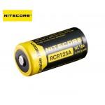 Nitecore - Accus Format 16340 Li-ion 650ma/h