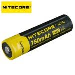 Nitecore - Accus Format 14500 Li-ion 750ma/h
