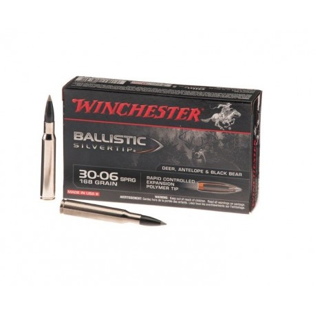 30-06 - Winchester Ballistic Silver Tip 168 gr
