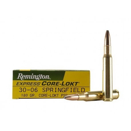 30-06 - Remington Core Lokt - 180 gr