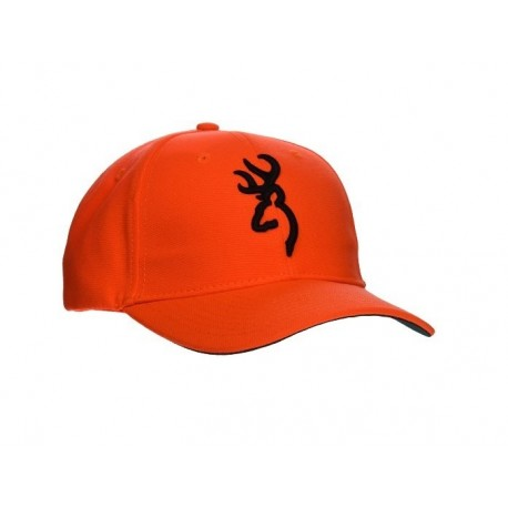 Browning - Casquette Orange - HV Hunter