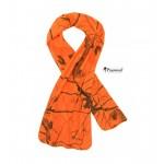 Echarpe Polaire orange Camo - Pinewood Blaze