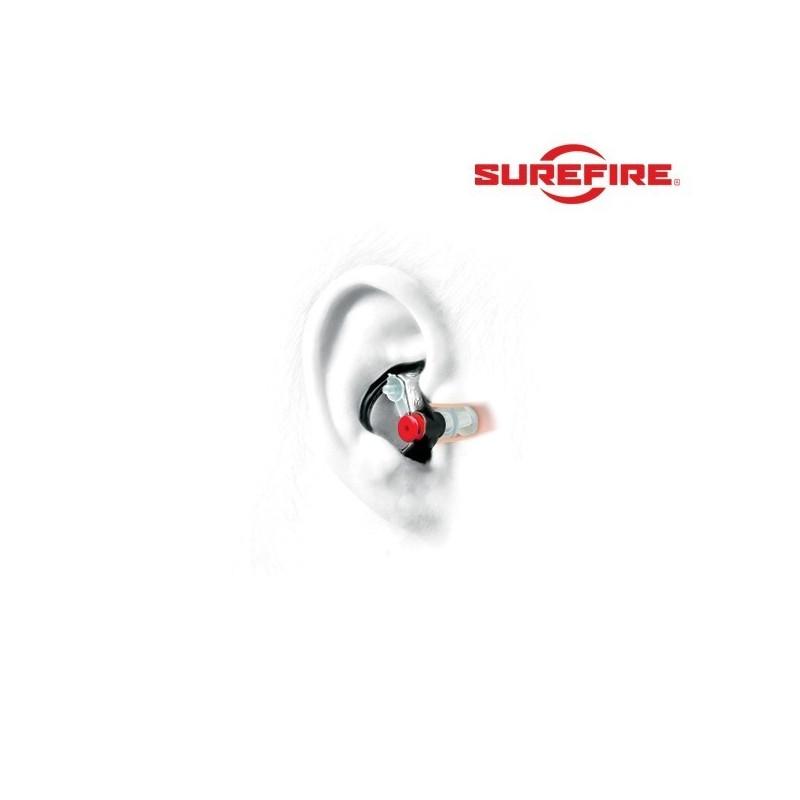bouchons oreille anti bruit ep3 surfire ear pro. Black Bedroom Furniture Sets. Home Design Ideas