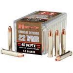 22 Magnum - 22 WMR - Hornady Critical Defense