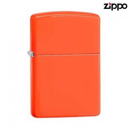 Zippo Neon Orange Fluo