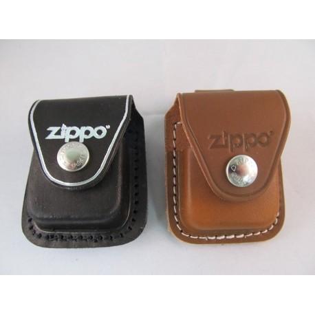 Zippo - Etui cuir Clip
