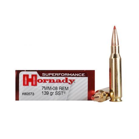 7-08 - Hornady SUPERFORMANCE - 139 Gr SST