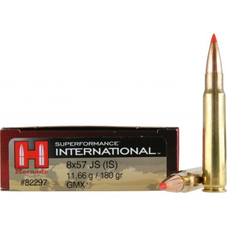 8x57 JS (IS) - Hornady SUPERFORMANCE INTERNATIONAL - 180 Gr GMX