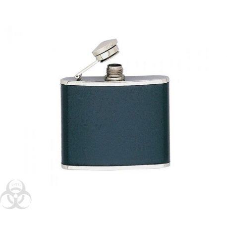 Flasque Inox gainée Cuir façon Croco150 ml