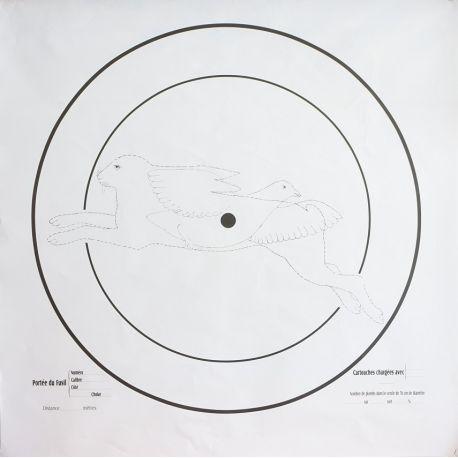Cible Fusil Chasse - Ciblage Cartouche