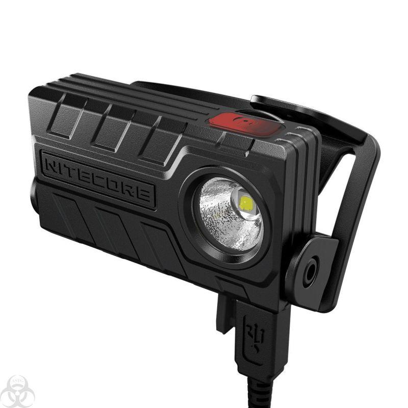 lampe frontale nu20 nitecore 360 lumens rechargeable. Black Bedroom Furniture Sets. Home Design Ideas