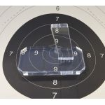 Support Pistolet Semi Auto -  Présentoir Plexi