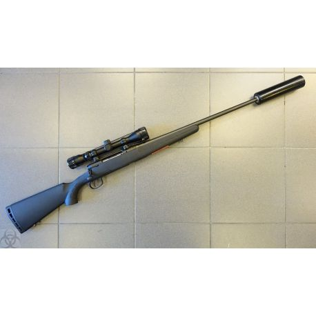 Pack Savage AXIS SILENCE - 243 - lunette Bushnell 3-9x40 - Silencieux
